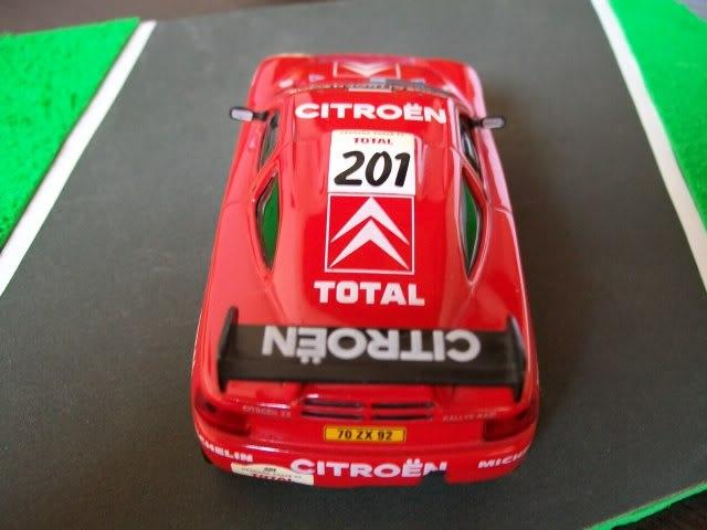 Citröen ZX Rallye Raid. Ixo-Altaya. Juanh Racing Team 005  100_1429