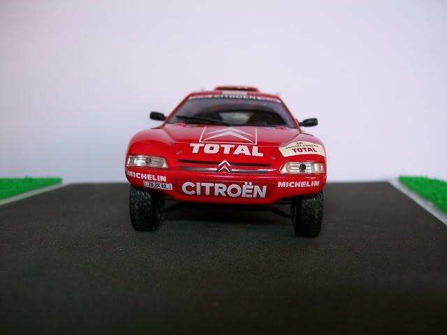 Citröen ZX Rallye Raid. Ixo-Altaya. Juanh Racing Team 005  100_1440