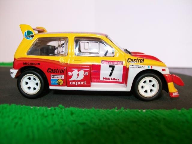 MG Metro 6R4. Ixo-Altaya. Juanh Racing Team 006  100_1461