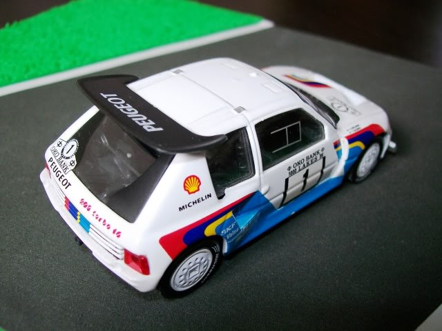 Peugeot 205 Turbo 16 E2. Ixo-Altaya. Juanh Racing Team 007  100_1514