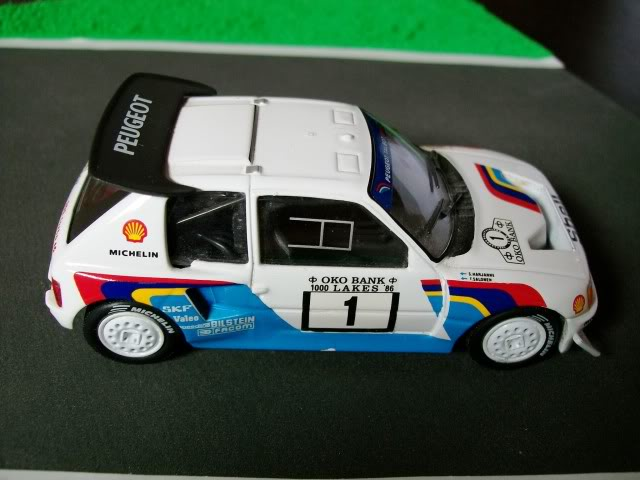 Peugeot 205 Turbo 16 E2. Ixo-Altaya. Juanh Racing Team 007  100_1516