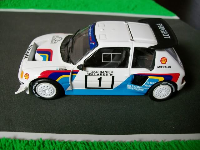 Peugeot 205 Turbo 16 E2. Ixo-Altaya. Juanh Racing Team 007  100_1517