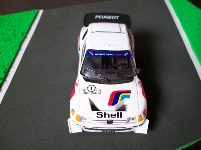 Peugeot 205 Turbo 16 E2. Ixo-Altaya. Juanh Racing Team 007  100_1518