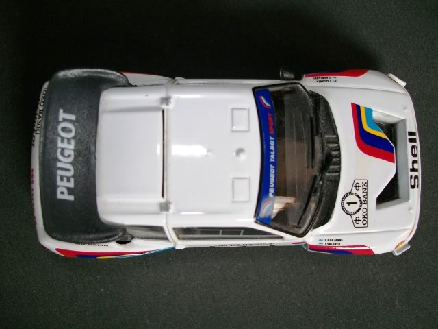 Peugeot 205 Turbo 16 E2. Ixo-Altaya. Juanh Racing Team 007  100_1521