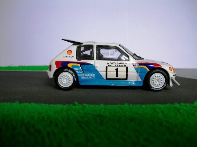 Peugeot 205 Turbo 16 E2. Ixo-Altaya. Juanh Racing Team 007  100_1524