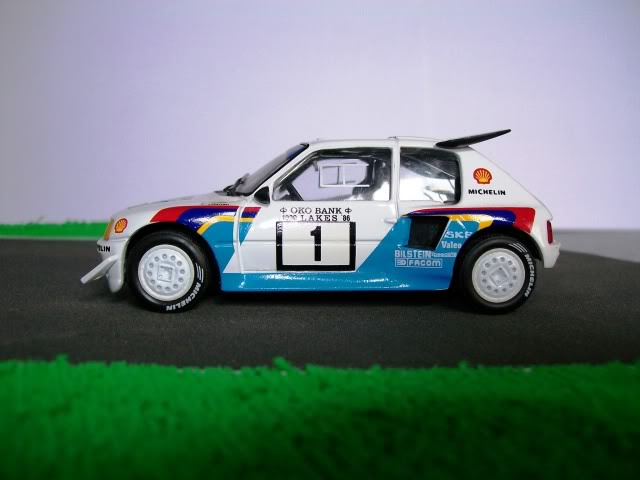 Peugeot 205 Turbo 16 E2. Ixo-Altaya. Juanh Racing Team 007  100_1526
