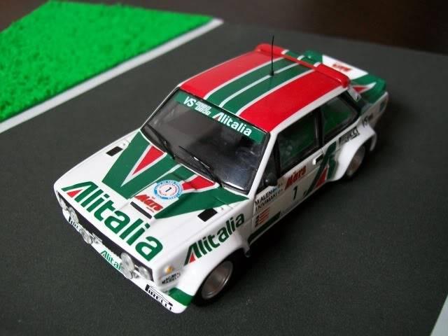 Fiat 131 Abarth. Ixo-Altaya. Juanh Racing Team 009  100_1585