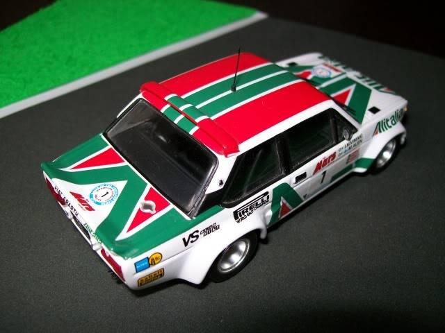 Fiat 131 Abarth. Ixo-Altaya. Juanh Racing Team 009  100_1587