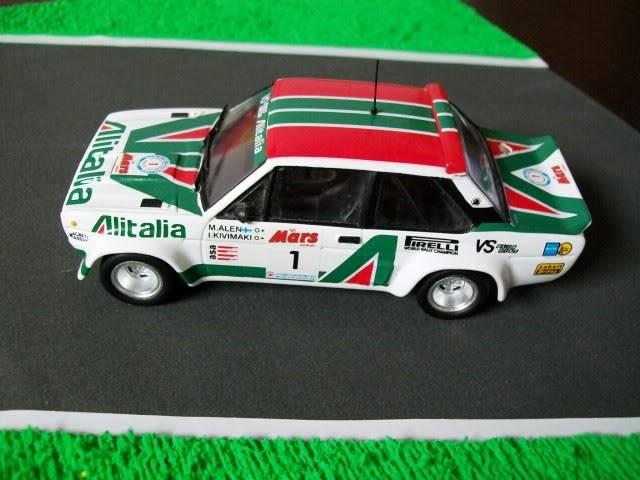 Fiat 131 Abarth. Ixo-Altaya. Juanh Racing Team 009  100_1589