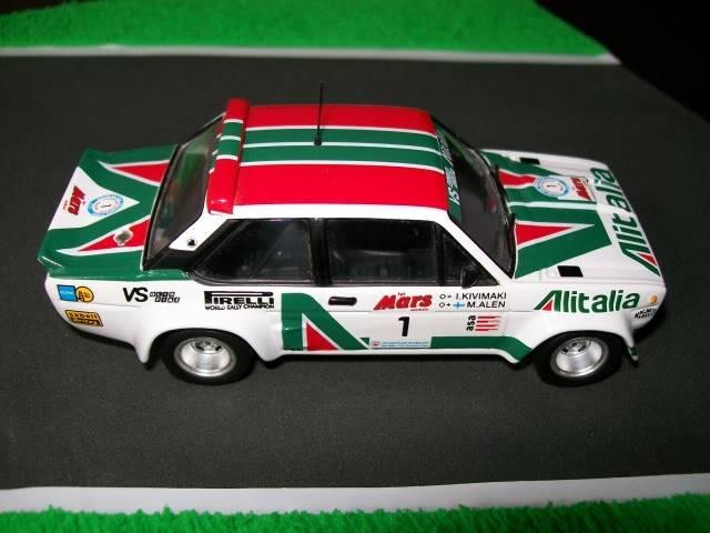 Fiat 131 Abarth. Ixo-Altaya. Juanh Racing Team 009  100_1591