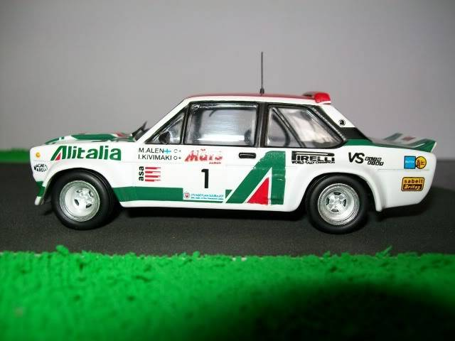 Fiat 131 Abarth. Ixo-Altaya. Juanh Racing Team 009  100_1601
