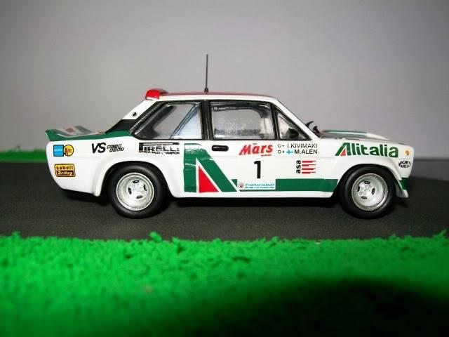 Fiat 131 Abarth. Ixo-Altaya. Juanh Racing Team 009  100_1602