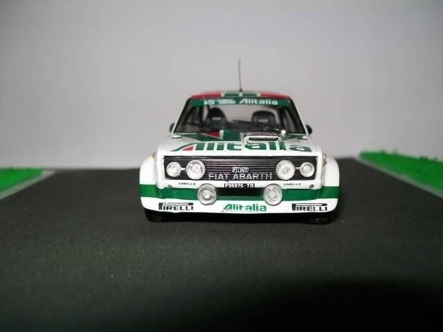 Fiat 131 Abarth. Ixo-Altaya. Juanh Racing Team 009  100_1603