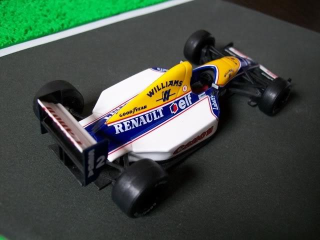 Williams FW15C Renault. Ixo-Altaya. Juanh Racing Team 012  100_1681