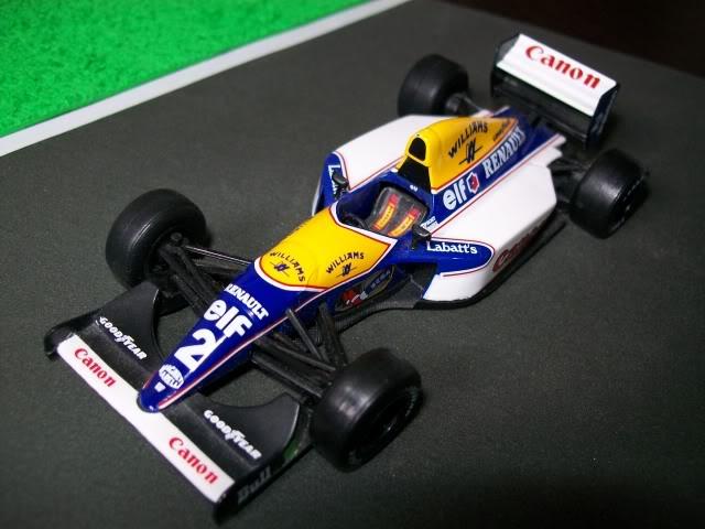 Williams FW15C Renault. Ixo-Altaya. Juanh Racing Team 012  100_1683