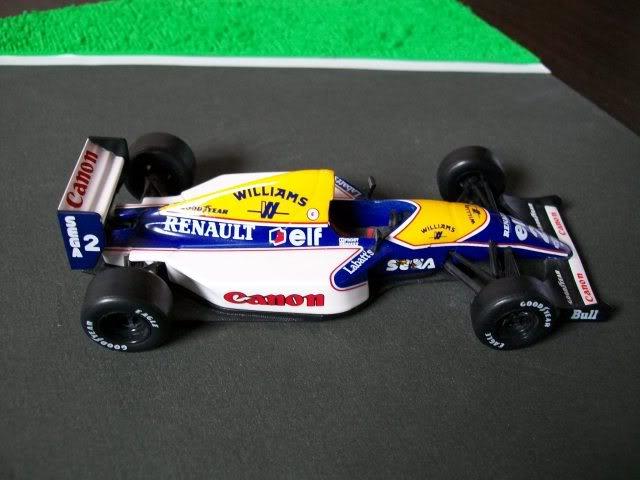 Williams FW15C Renault. Ixo-Altaya. Juanh Racing Team 012  100_1686