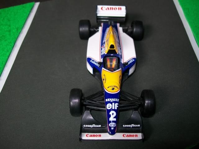 Williams FW15C Renault. Ixo-Altaya. Juanh Racing Team 012  100_1688
