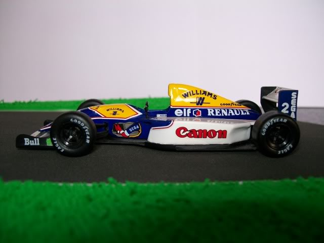 Williams FW15C Renault. Ixo-Altaya. Juanh Racing Team 012  100_1696