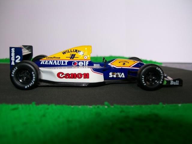 Williams FW15C Renault. Ixo-Altaya. Juanh Racing Team 012  100_1697