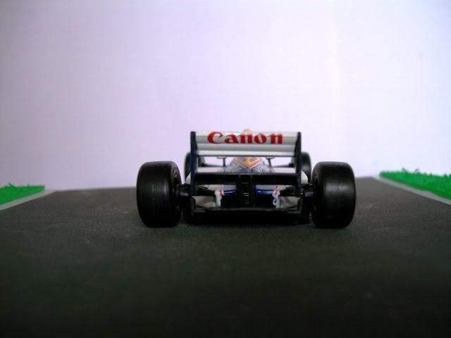 Williams FW15C Renault. Ixo-Altaya. Juanh Racing Team 012  100_1701