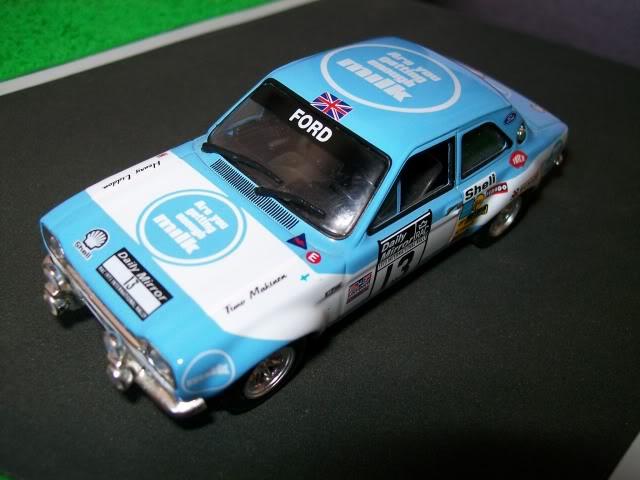 Ford Escort MK1 RS1600. Ixo-Altaya. Juanh Racing Team 013  100_1702