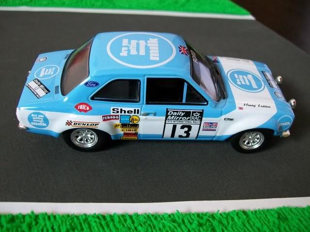 Ford Escort MK1 RS1600. Ixo-Altaya. Juanh Racing Team 013  100_1708