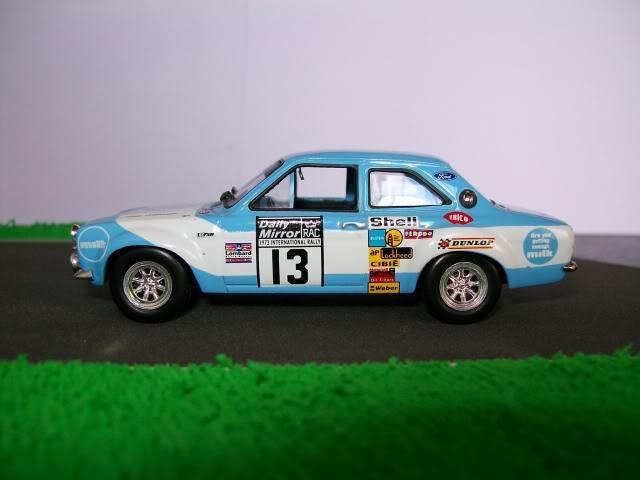 Ford Escort MK1 RS1600. Ixo-Altaya. Juanh Racing Team 013  100_1720