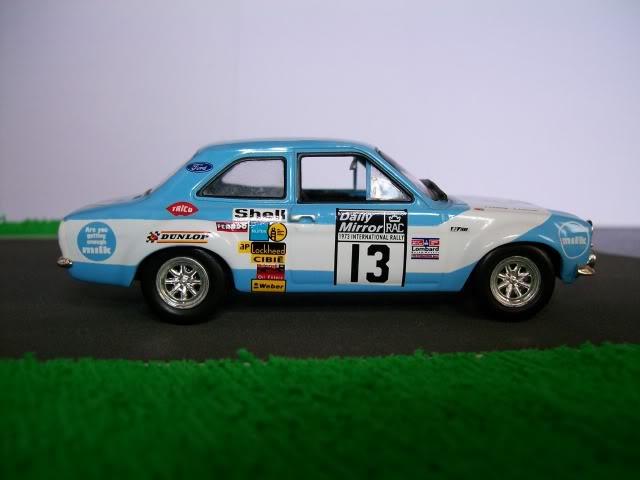 Ford Escort MK1 RS1600. Ixo-Altaya. Juanh Racing Team 013  100_1722