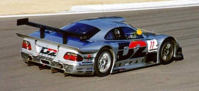 Mercedes Benz CLK GTR. High Speed. Juanh Racing Team 008 1052737_2337930621