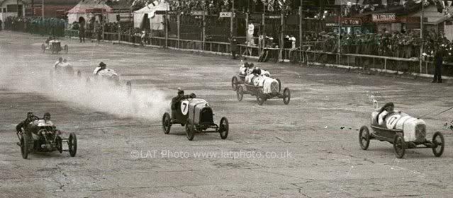 Morgan Super Sport MX4. Brumm. Juanh Racing Team 149 1923JCC200MileRaceatBrooklands
