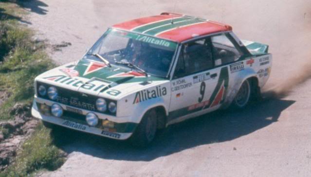 Fiat 131 Abarth. Ixo-Altaya. Juanh Racing Team 009  197891ad7