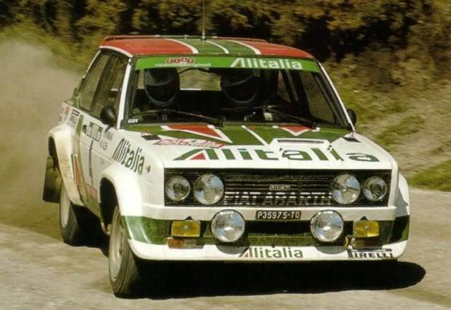 Fiat 131 Abarth. Ixo-Altaya. Juanh Racing Team 009  1978portugal04fiat131abam5