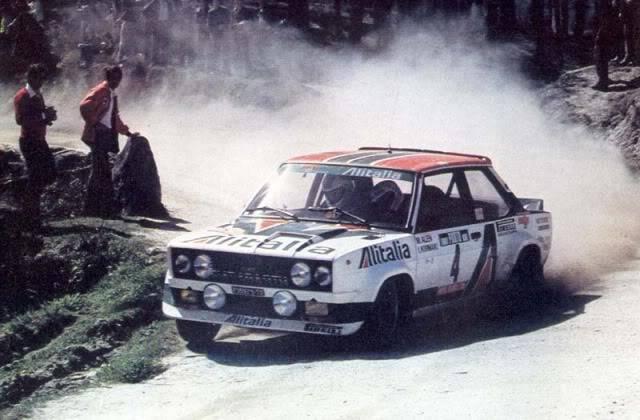 Fiat 131 Abarth. Ixo-Altaya. Juanh Racing Team 009  1978portugal04fiat131abrr6
