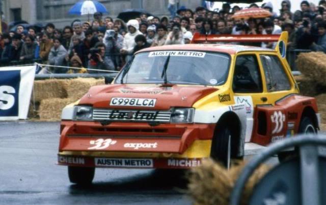 MG Metro 6R4. Ixo-Altaya. Juanh Racing Team 006  198620AUSTIN-METRO20AURIOL20GARRIGUES206