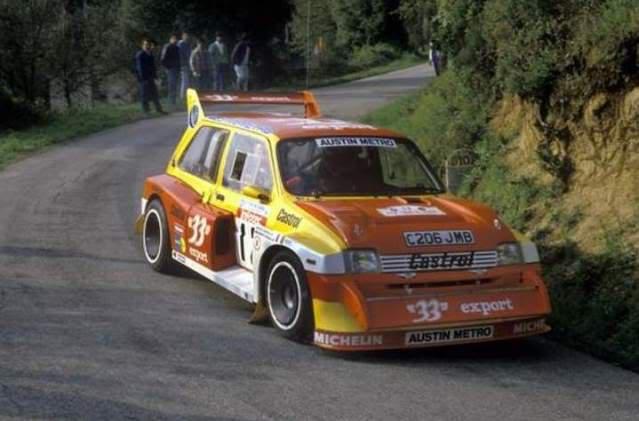 MG Metro 6R4. Ixo-Altaya. Juanh Racing Team 006  2-3