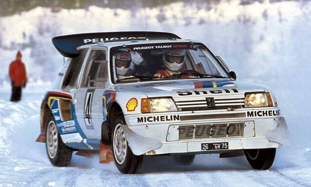 Peugeot 205 Turbo 16 E2. Ixo-Altaya. Juanh Racing Team 007  2-4