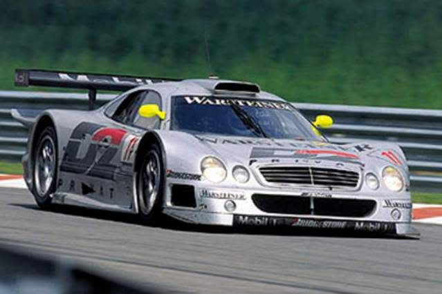 Mercedes Benz CLK GTR. High Speed. Juanh Racing Team 008 2-5