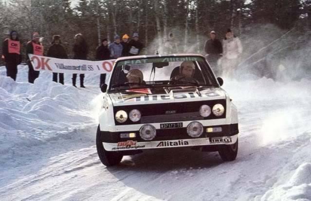 Fiat 131 Abarth. Ixo-Altaya. Juanh Racing Team 009  2-6