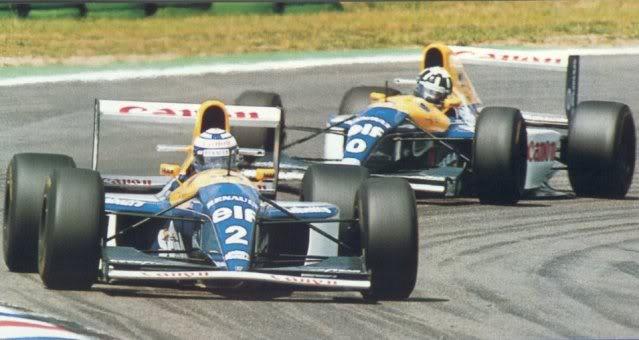 Williams FW15C Renault. Ixo-Altaya. Juanh Racing Team 012  2-9