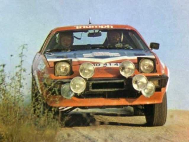 Triumph TR7 V8. Ixo-Altaya. Juanh Racing Team 002  2