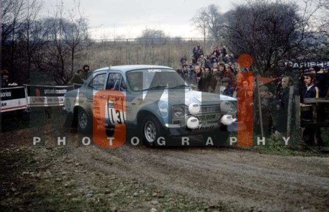 Ford Escort MK1 RS1600. Ixo-Altaya. Juanh Racing Team 013  731117GBMakinen2
