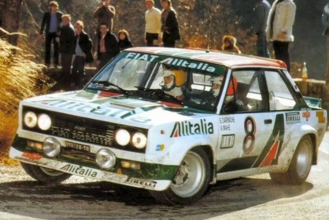Fiat 131 Abarth. Ixo-Altaya. Juanh Racing Team 009  FDA