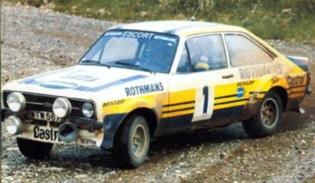Ford Escort MKII RS 1800. Ixo-Altaya. Juanh Racing Team 102 01-9