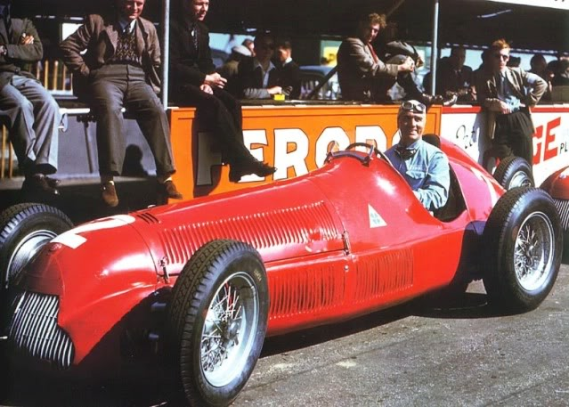 Alfa Romeo 158. Ixo-Altaya. Juanh Racing Team 124 0195020british20gp20-20giuseppe20far