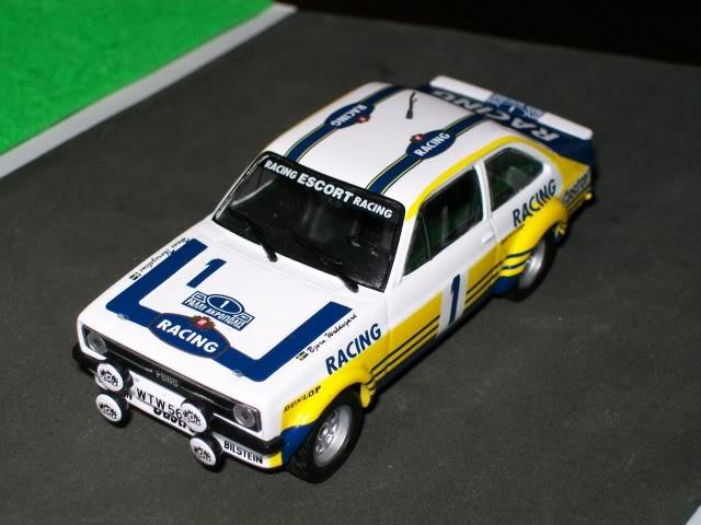 Ford Escort MKII RS 1800. Ixo-Altaya. Juanh Racing Team 102 100_4329