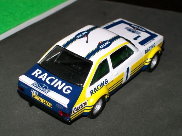 Ford Escort MKII RS 1800. Ixo-Altaya. Juanh Racing Team 102 100_4330