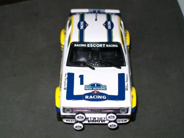 Ford Escort MKII RS 1800. Ixo-Altaya. Juanh Racing Team 102 100_4333