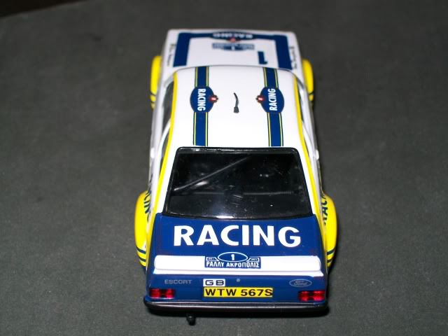 Ford Escort MKII RS 1800. Ixo-Altaya. Juanh Racing Team 102 100_4335