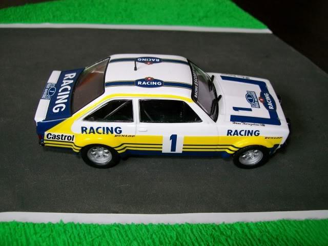 Ford Escort MKII RS 1800. Ixo-Altaya. Juanh Racing Team 102 100_4339