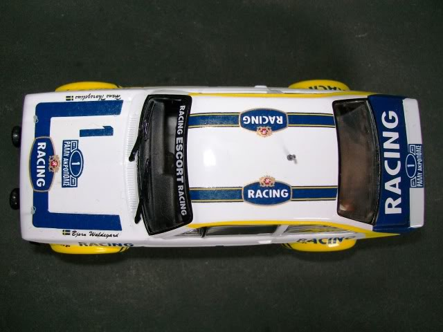 Ford Escort MKII RS 1800. Ixo-Altaya. Juanh Racing Team 102 100_4340